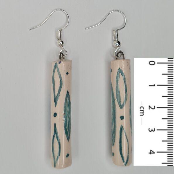Green Leaves Earrings-4,5cm