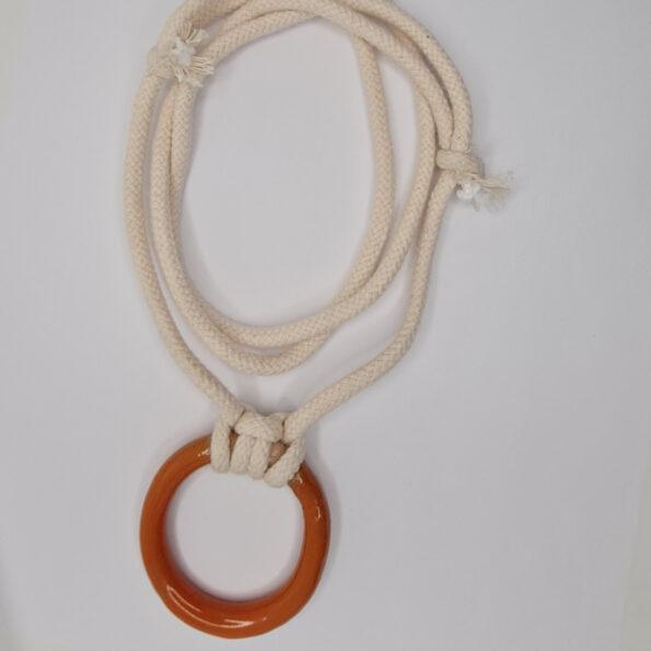 O-range Ring Necklace