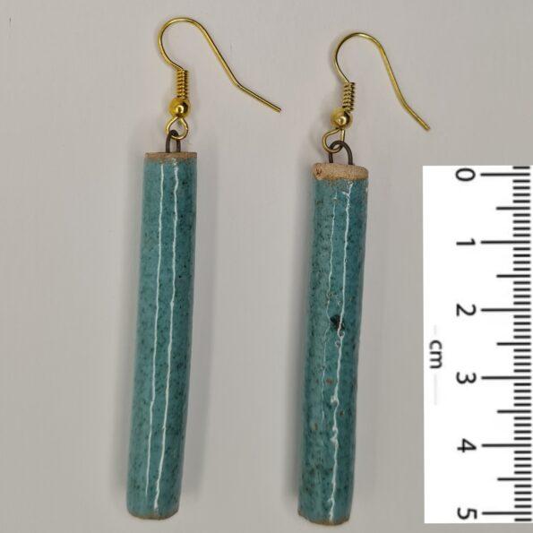 Persian Blue Earrings-5cm