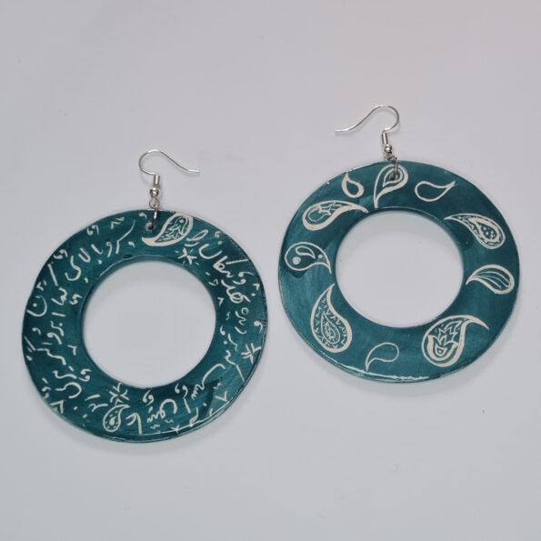 Poetry & Paisley Earrings